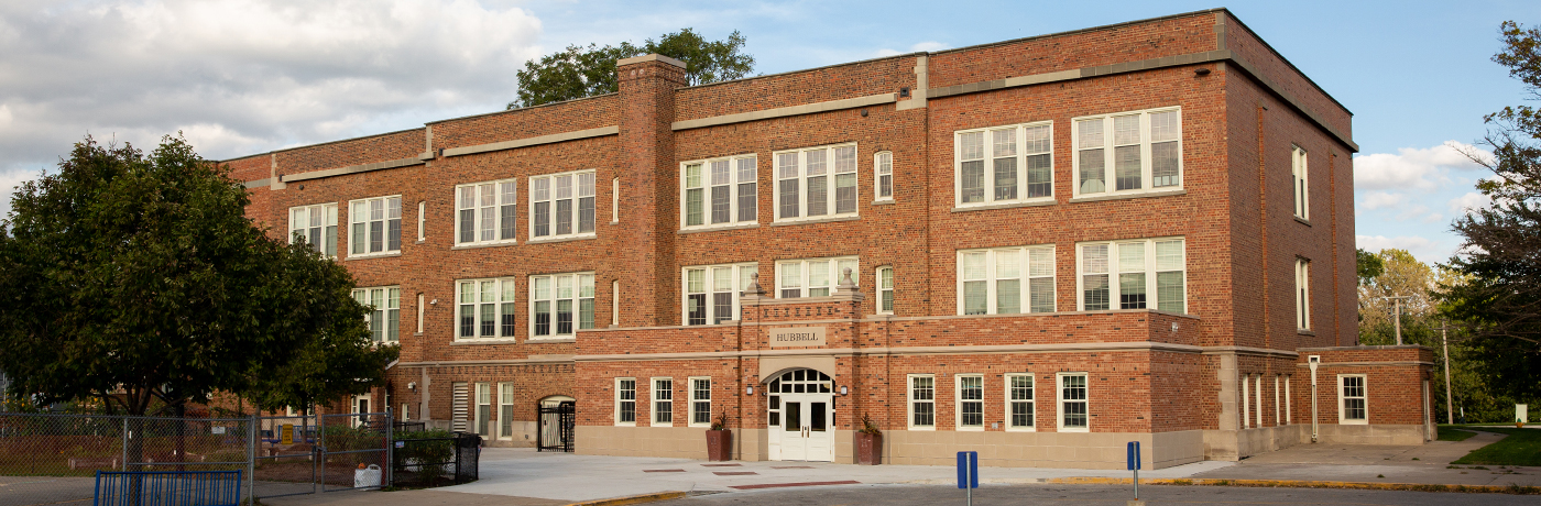 Hubbell Elementary School Building