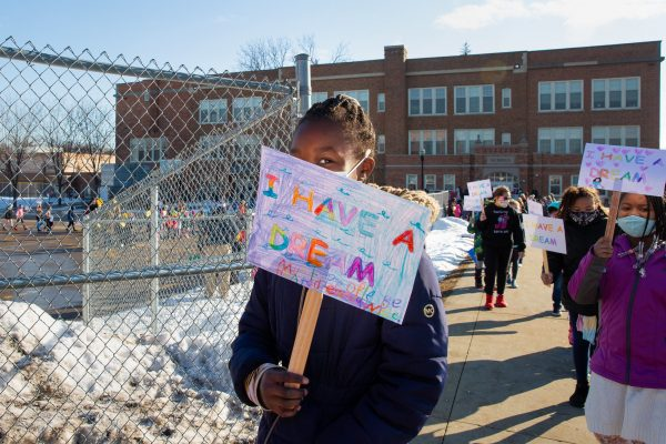 Black History Month Culminates With Hubbell Dream Walk